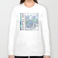 new orleans Long Sleeve T-shirts featuring New Orleans by Catherine Holcombe