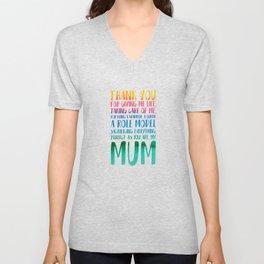 Mum Unisex V-Neck