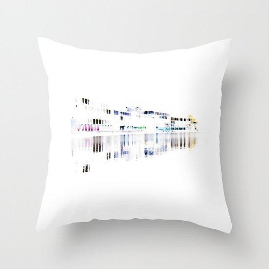white harbor I. Throw Pillow