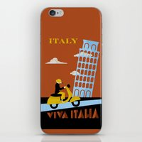 italy iPhone & iPod Skins featuring Italy by Laurel Natale