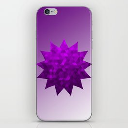 Kwan Yin's Star | Purple Flame | Compassion iPhone Skin