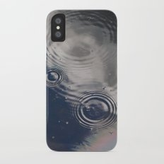 A Cloudy Rainy Day Slim Case iPhone X