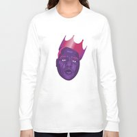 biggie smalls Long Sleeve T-shirts featuring Biggie Smalls by David Savelberg