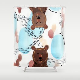 Brother Bears Shower Curtain