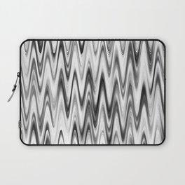 WAVY #1 (Grays & White) Laptop Sleeve