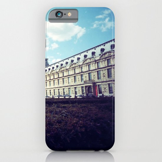 Louvre Gardens I iPhone & iPod Case