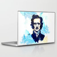 poe Laptop & iPad Skins featuring POE by Jon Cain