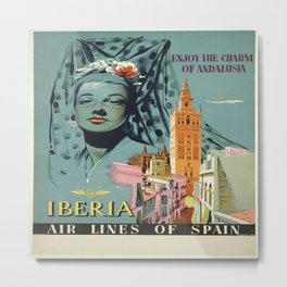 Vintage poster - Spain Metal Print
