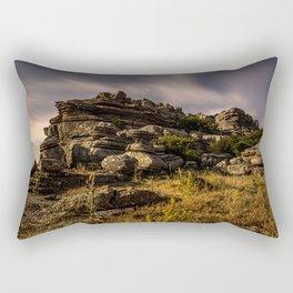 Moonlight Shadow Rectangular Pillow