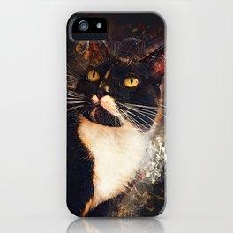 cat Jagoda art #cat #kitty iPhone Case