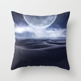 Sci-Fi landscape Throw Pillow