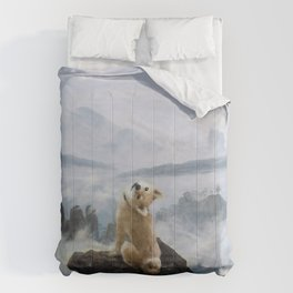 The Wanderer Above the Sea of Doge Comforters