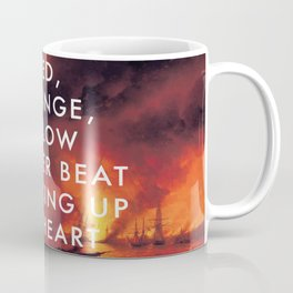 Battle Sparking Up My Heart Coffee Mug