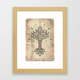 Tillmoriăn Tree of Truth Framed Art Print