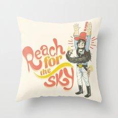 Reach for the Sky Throw Pillow