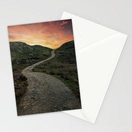 Sunset over Skye island Stationery Cards