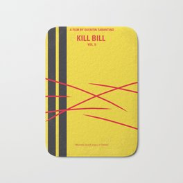 No049 My Kill Bill - part 2 minimal movie poster Bath Mat