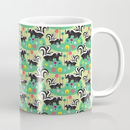 The Skunk Couples Coffee Mug