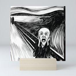 The Screamer Mini Art Print
