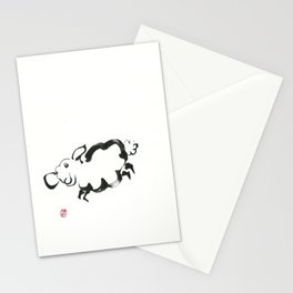 Year of the Sheep Stationery Cards