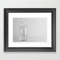 Sail with me Framed Art Print