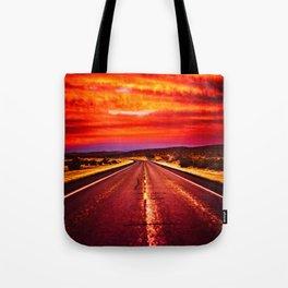 Desert Sunrise, Big Bend, Texas Tote Bag