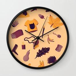 Automne Wall Clock