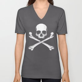 Jolly Roger - Pirate Hatching Unisex V-Neck