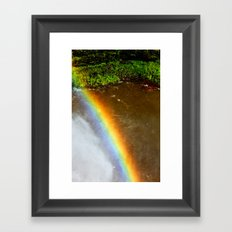 Somewhere Under the Rainbow Framed Art Print