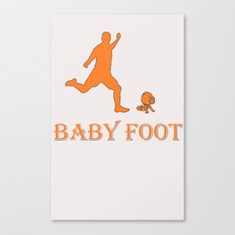 babyfoot - baby foot Canvas Print