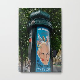Paris Street Art V Metal Print