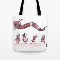 Dragon Parade  Tote Bag