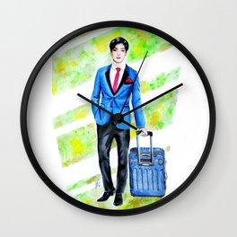 Business Man Wall Clock