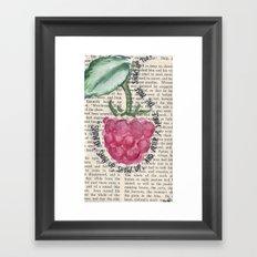 SHOW UP Framed Art Print