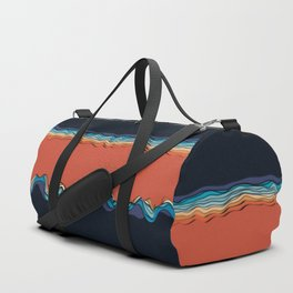 Fire goddess kisses the ocean Duffle Bag