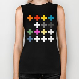 Crosses II Biker Tank