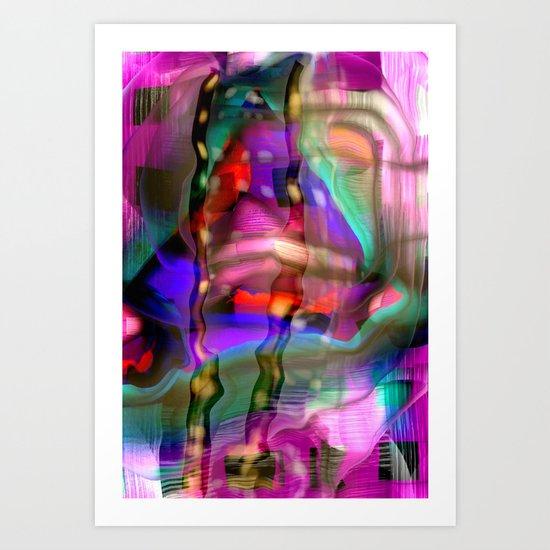 PATTERNS ONE Art Print