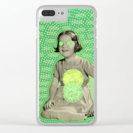 Life On Mars Clear iPhone Case
