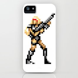 Sheena is a contra soilder iPhone Case