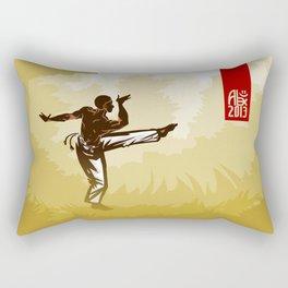 Capoeira 369 Rectangular Pillow