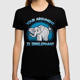 Funny Elephant Gift Idea T-shirt
