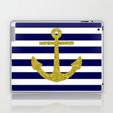 Gold Anchor Laptop & iPad Skin