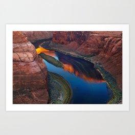 Colorado River, Arizona Art Print