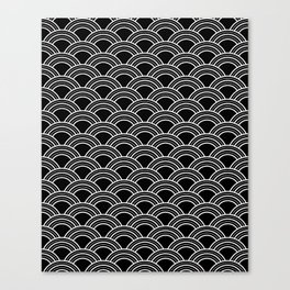 Art Deco Scallop | Billy & Pat Canvas Print