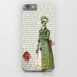 Pride & Prejudice - Zombified iPhone Case