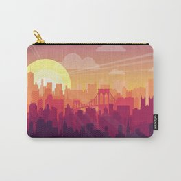 Brooklyn Sunset Carry-All Pouch