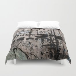 Change is a positive act Duvet Cover