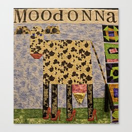 MoodOnNNa Canvas Print