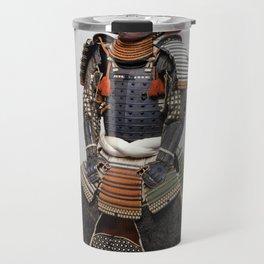 Historical Samurai Armor Photograph (18th Century) Travel Mug