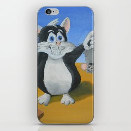 I Caught a Mouse iPhone Skin